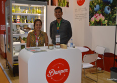 Maria Alejandra Aranguri and Jose Arias at Danper.
