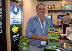 Brendan Poppi from Eco Bananas Australian banana growers are looking to export bananas with a point of difference these are Eco Organic bananas.