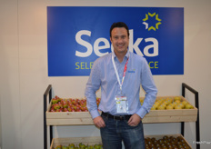Cameron Carter from Seeka Australia who are now in full production of the Rico pear.