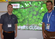 SF du Toit and Gert Mons from Exsa South Africa.