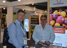 Wayne Prowse - Fresh Intelligence and John Moore - Summerfruit Australia.