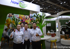 Chunjie Wang and Jian Ke Huang Sales Director from Shanghai Nowfrutti Co., Ltd. They are mainly engaged in the import of fresh fruit and the marketing and wholesale of various fruit. With their Disney Fruit packaging they have a good position in the Chinese market.