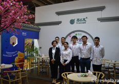 Team of Hunan Fruit-mate Agricultural Science & Technology (Group) Co., Ltd. Importing different fruit from all over the world, cherries, dragon fruit, longan, durian, red Globe Grape and mangosteen.