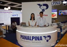 Jacqueline Chan & Stanley Chan from Panalpina China Ltd. Panalpina provides supply chain solutions. The company combines its core products – Air Freight, Ocean Freight, and Logistics and Manufacturing – to deliver globally integrated, tailor-made end-to-end solutions for twelve core industries.