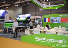 Gai Wei from Maf Roda Machinery (Yantai) Co.,Ltd. Provider of sorting line machinery.
