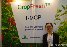 Cathy Fang from Chesen BioChem Co., Ltd. Chesen BioChem Co., Ltd is one of the leading manufacturer of agriculture protection products in China, specialized in research, development, production and market of agrochemicals.