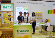Zhou Xiaoqin from Sichuan NingDian Agriculture Co., Ltd. Main product is lemons.