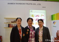 Alice Su from Xiamen Rainbow Fruits Co.,Ltd.