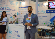 Melvin Xavier from Cold Chain Connect.
