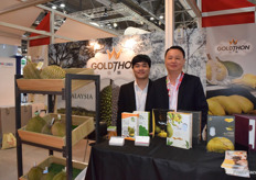 GoldThon is a Malaysian durian supplier and exporter. The company exports fresh durian and frozen durian to different countries.