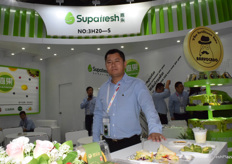 The main products of SHANGHAI SUPAFRESH TRADING CO., LTD. Includes avocados, pears and lemons.