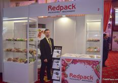 Lukasz Druzkowski of Redpack Packaging and Machinery