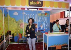 Esra Soyleyen, marketing manager for Aksun.