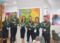 The Eren Tarim team. The Turkish company deals in citrus mostly.