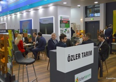 The stand of Turkish exporter Ozler Tarim.