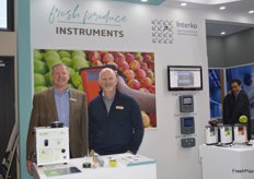 Steve Page and Greg Akins from Fresh Produce Instruments
