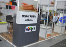 Yhe Meypak stand, they showcased a variety of packaging.
