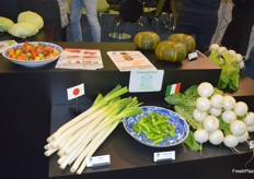 Several produce was on display at the Tokita Seeds stand.