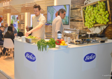 There was also a lot of cooking going on at the Belco stand, ensuring a pleasant smell as soon as you'd walk into Hall 2.1.