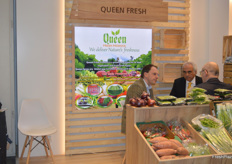 Ashraf Yanni is the managing director of Queen Fresh Produce, while taking the picture he was busy in a meeting.