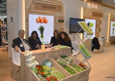 The Nivex Farms team. The Egyptian exporters deal in a variety of vegetables, like green beans and peppers.
