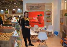 Azza Lotfy, Director for Green Tiba. The Egyptian exporters deal in strawberries, citrus and potatoes, amongst other produce.