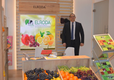 Mohamed El Baroudy of El Roda. Based in Egypt, they deal in citrus grapes and pomegranates,