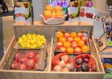 The produce at display at the Fruttella stand.