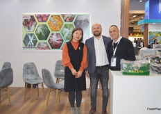 Levent Cakmak, Sales Manager for Saypek and his team. They showcased their packaging in Berlin.