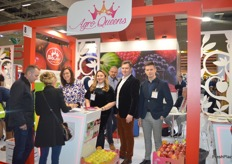 Second on the left is Anna Gabler, CEO of Polish organic apple exporters AgroQueens. Their brand is growing steadily and they had  a great exhibition.