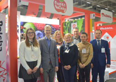 Second on the left is Damian Kozlowski, he and his team of the Polish exporting company Ewa-Bis were representing their new organic brand Owoce Natury.