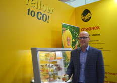 Andrzej Kornafel with Citronex. The Polish company introduced fresh cut fruit salads with IFS-certification. The salads can be a mix with whatever fruit the consumer wants and have a shelf life of eight days.