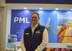 Nick Finbow sales Director at PML. The company has just launched a new fleet of trucks with livery.
