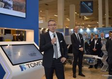 Michel Picandet said Tomra's goals for the future were to help customers solve challenges and increase productivity.