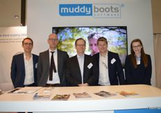 The team from Muddy Boots.