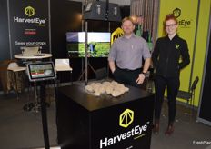 BeeHive were in Berlin for the first time with the innovative HarvestEye technology which can information about potatoes and onions on size, yield and much more during harvest. Linden Heaton and Effie Warwick-John were at the stand.