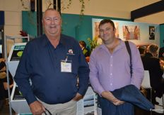 Allan Mahoney and Braden Hellmuth from Sweet Potatoes Australia dropped by the FreshPlaza stand. Allan is seeing increased demand in Europe for sweet potatoes from Australia.
