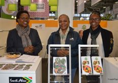 The ladies from Agricultural Research Council and Fruit South Africa.