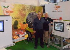 Yaacov Bitton from Hadran Labeling Solutions and Greg Wilson from Warehouse Design & Packing