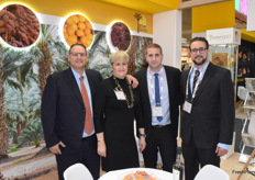 Avi, Dorit, Tal and Sagi Dagul from Agrifood promoting dates from Israel