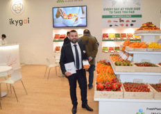 Fabrizio Iurato from Top Seeds International promoting the new brand Ikygai