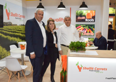 Gal Nadan, Enav Shallit and Mahmoud Younis from Shallit Carrots