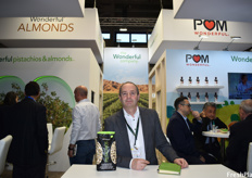 Tom Hazelof of Wonderful. The company last year launched the no-shell pistachios in Europe and are working on adding the flavored no-shells, which have been successful in the American market, to the European market by 2021.