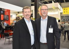 Jim Hazen and Chuck Zeutenhorst of First Fruit Marketing attended the show as visitors this year.