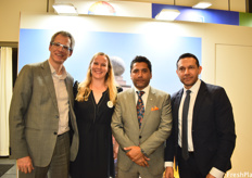 Daniel May, Ragna John, Iván Ontaneda Berrú and Patricio Dloreida. Berrú is the Ecuadorian Minister of Production, Foreign Trade, Investment, and Fisheries and is a pivotal part of the new Ecuadorian initiative towards sustainability.