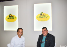 Cristiano Gloria of Transcomexgg and Olavo Espindola of Jaguacy Brazil. Jaguacy is an avocado producer in Brazil and their biggest export month is May because of the high prices that are usual at that time of the year.