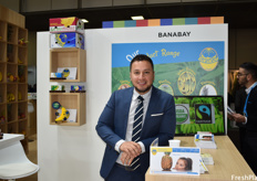 Banabay's export manager Danilo Serrano. The Ecuadorian banana company is working on expanding the number of farms for their own production and is hoping to export around eight additional containers of their own-grown product by the end of 2020.