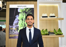Alejandro Sanches of Sentilver, an Ecuadorian banana company currently focused on expanding their volumes in Europe.