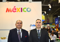 José Arístides Rodríguez Gonzáles (Managing Director) and José Rodríguez Pérez (Sales Manager) of Sunrise Fruits and Goods. They attended the show as visitors and had a very busy and successful event.