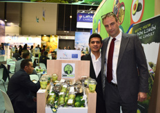 Rafayatul Kabir and Andreas Schindler of Don Limón, who have their own Fairtrade packaging facility for limes in Guatemala. The company is working on recategorizing the physalis from an exotic fruit to a berry.